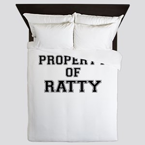 Property of RATTY Queen Duvet