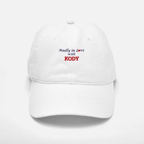 Madly in love with Kody Baseball Baseball Cap