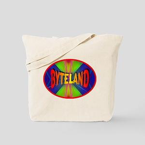 Byteland Ellipse Tote Bag