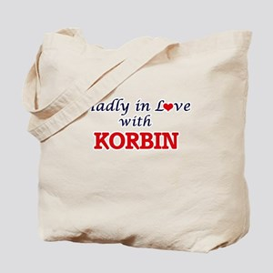 Madly in love with Korbin Tote Bag
