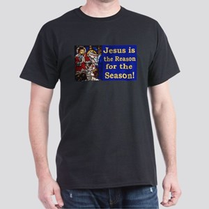 Jesus is the reason for the season st Dark T-Shirt