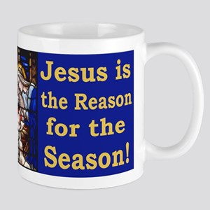 Jesus is the reason for the season stai Mug