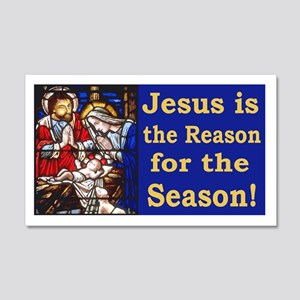 Jesus is the reason for the seaso 20x12 Wall Decal