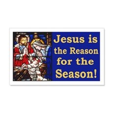Jesus is the reason for the seaso Wall Decal