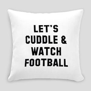 Cuddle Football Everyday Pillow