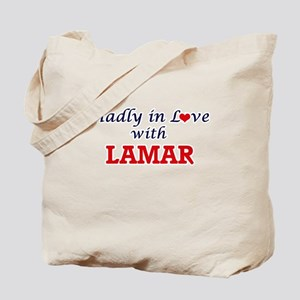 Madly in love with Lamar Tote Bag