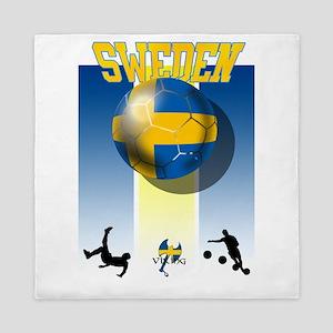Swedish Football Queen Duvet