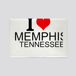 I Love Memphis, Tennessee Magnets