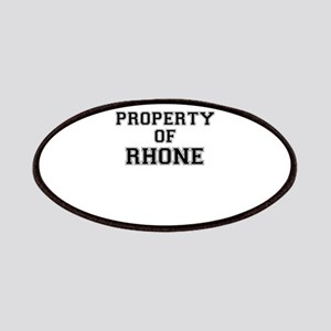 Property of RHONE Patch
