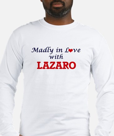 Madly in love with Lazaro Long Sleeve T-Shirt