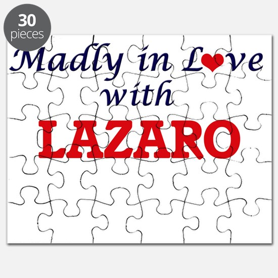 Madly in love with Lazaro Puzzle