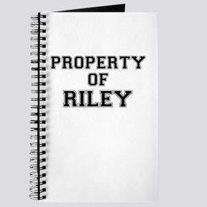 Property of RILEY Journal