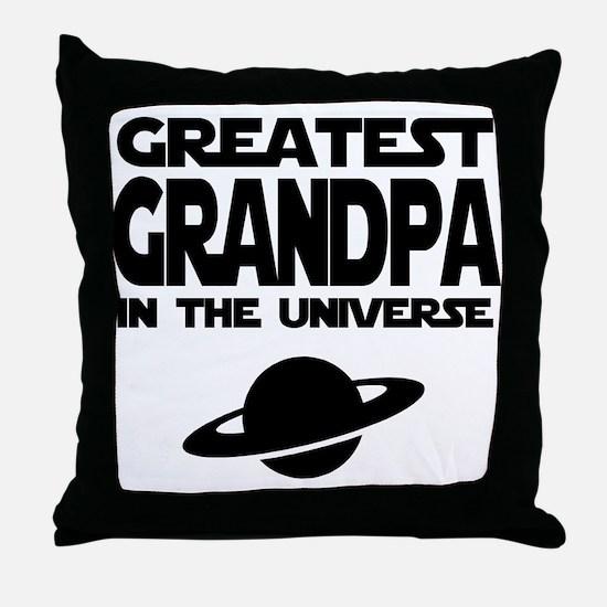 Greatest Grandpa Throw Pillow