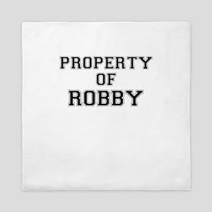 Property of ROBBY Queen Duvet