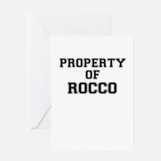 Property of ROCCO Greeting Cards