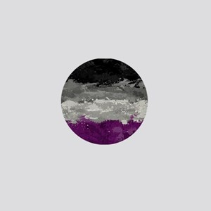 Asexual Paint Splatter Flag Mini Button