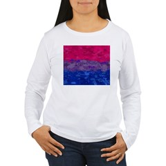 Bisexual Paint Splatte T-Shirt