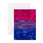 Bisexual Paint Splatter Greeting Cards (Pk of 10)