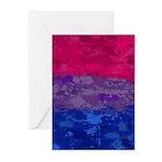 Bisexual Paint Splatter Greeting Cards (Pk of 20)