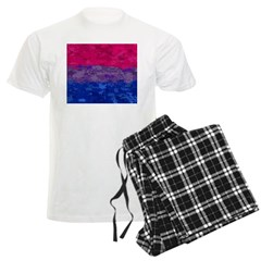 Bisexual Paint Splatter Flag Pajamas