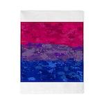 Bisexual Paint Splatter Flag Twin Duvet