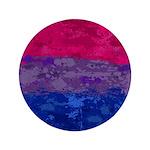 Bisexual Paint Splatter Flag Button