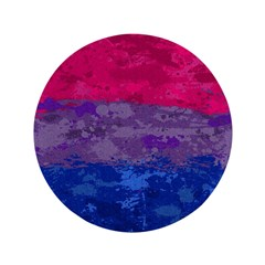 Bisexual Paint Splatter Flag Button