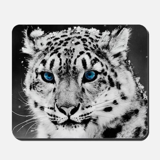 Leopardo Snow Mousepad