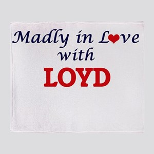 Madly in love with Loyd Throw Blanket