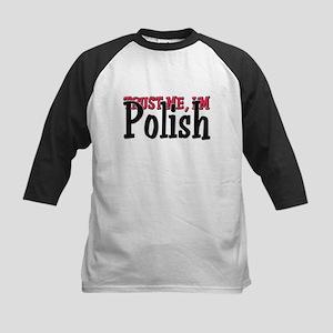 Trust Me I'm a Polish Kids Baseball Jersey