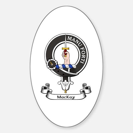 Badge - MacKay Sticker (Oval)