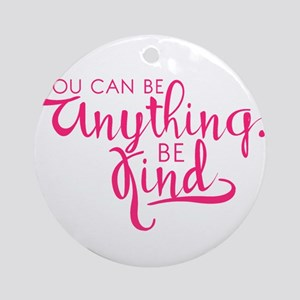 BE KIND Round Ornament