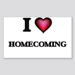I love Homecoming Sticker