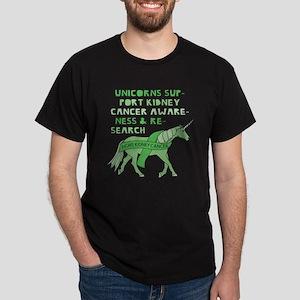 Unicorns Support Kidney Caner Awareness T-Shirt