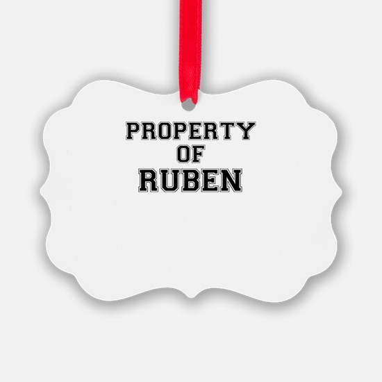 Property of RUBEN Ornament