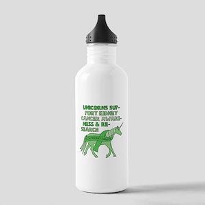 Unicorns Support Kidne Stainless Water Bottle 1.0L