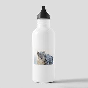 Leopard Winter Sports Water Bottle