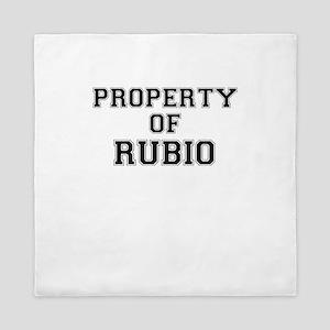 Property of RUBIO Queen Duvet