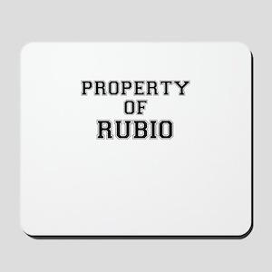 Property of RUBIO Mousepad