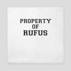 Property of RUFUS Queen Duvet
