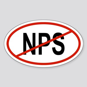 NPS Oval Sticker