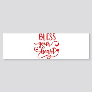 BLESS YOUR HEART -2 Bumper Sticker