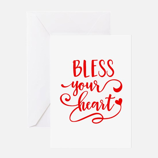 BLESS YOUR HEART -2 Greeting Cards