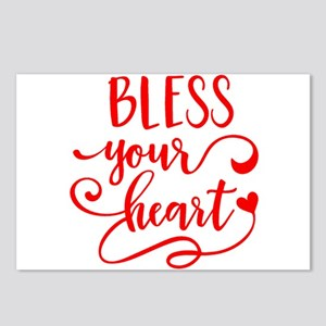 BLESS YOUR HEART -2 Postcards (Package of 8)
