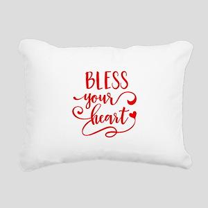 BLESS YOUR HEART -2 Rectangular Canvas Pillow