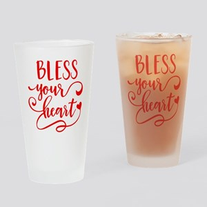 BLESS YOUR HEART -2 Drinking Glass