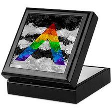 LGBT Ally Paint Splatter Flag Keepsake Box