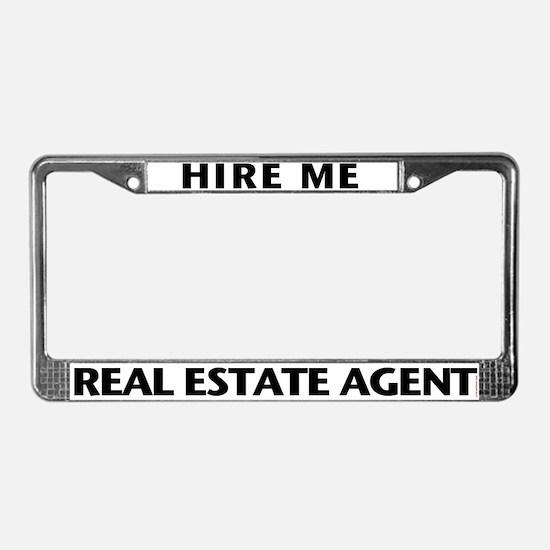 Real Estate License Plate Frames Cafepress