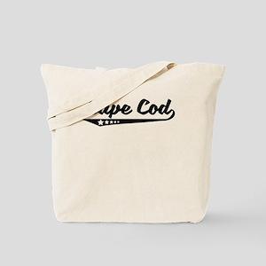 Cape Cod MA Retro Logo Tote Bag