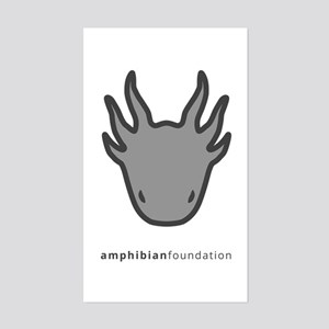 Amphibian Foundation Logo - Grey Sticker